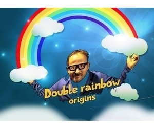 Double rainbow origins