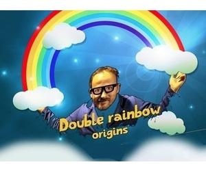 Double rainbow origins