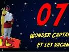 Wonder Captain - wc et les vacances