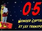Wonder Captain - wc et les transports