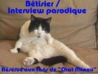 Chat Minou - Betisier interview parodique de la serie